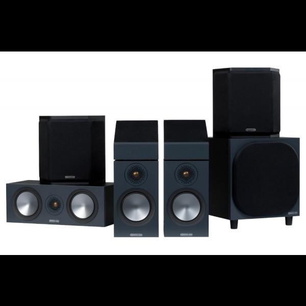 Monitor Audio Bronze 50 AMS 5.1.2 AV Speaker Package (6G)