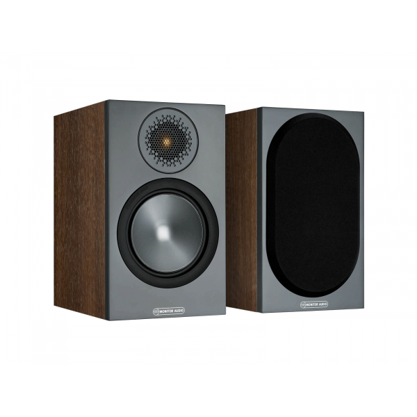 Monitor Audio Bronze 50 Bookshelf Speakers Walnut (6G)