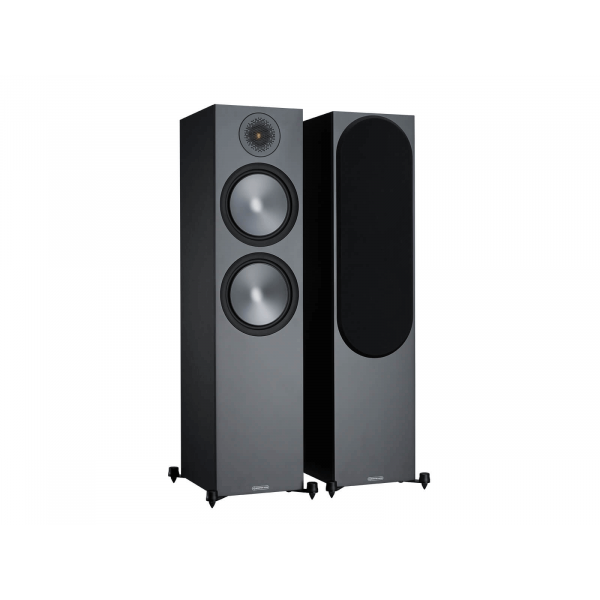 Monitor Audio Bronze 500 Floorstanding Speakers Black (6G)