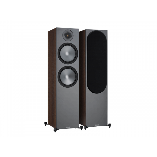 Monitor Audio Bronze 500 Floorstanding Speakers Walnut (6G)