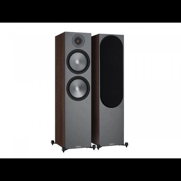 Monitor Audio Bronze 500 Speakers (Damaged, Walnut)