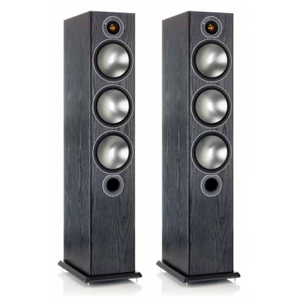 Monitor Audio Bronze 6 Floorstanding Speakers Black Oak