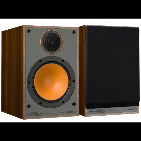 Monitor Audio Monitor 100 Bookshelf Speakers Walnut
