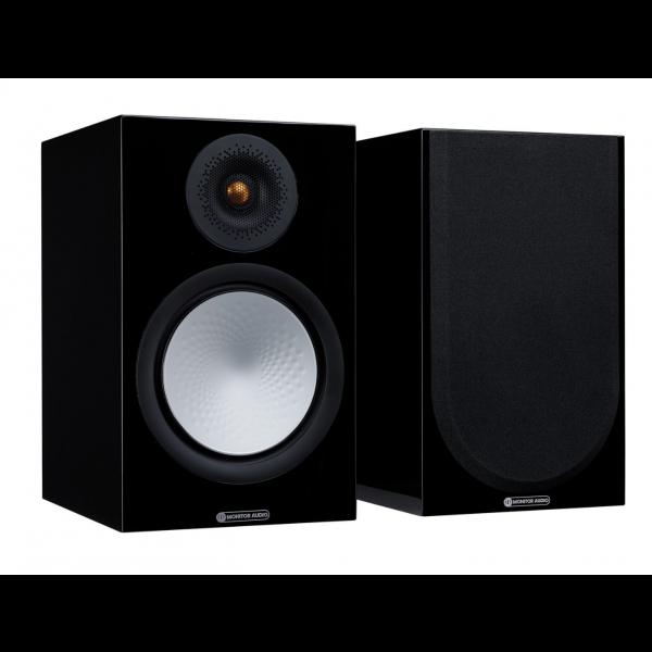 Monitor Audio Silver 100 7G Bookshelf Speakers Gloss Black