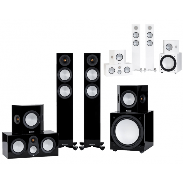 Monitor Audio Silver 200 7G Cinema 5.1 Speaker Package
