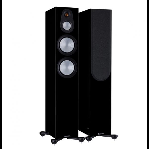 Monitor Audio Silver 300 7G Floorstanding Speakers Gloss Black