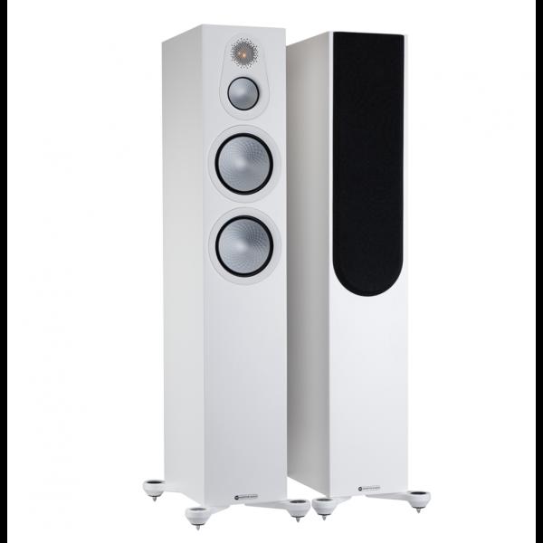 Monitor Audio Silver 300 7G Floorstanding Speakers Satin White