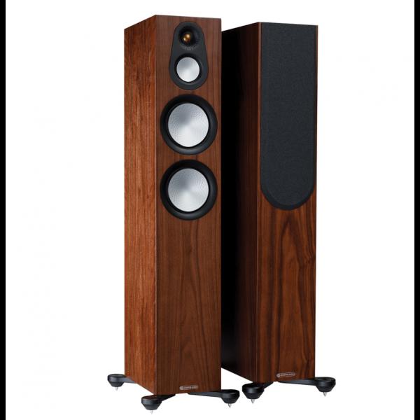 Monitor Audio Silver 300 7G Floorstanding Speakers Walnut