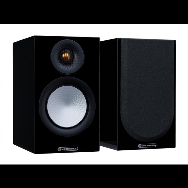 Monitor Audio Silver 50 7G Bookshelf Speakers Gloss Black