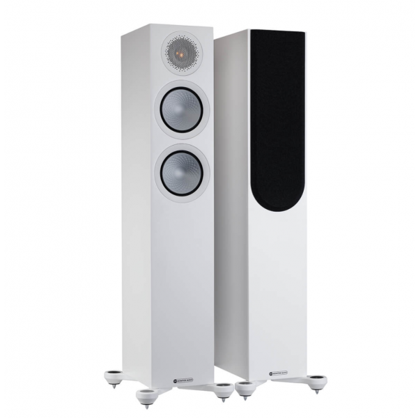 Monitor Audio Silver 200 7G Floorstanding Speakers Satin White