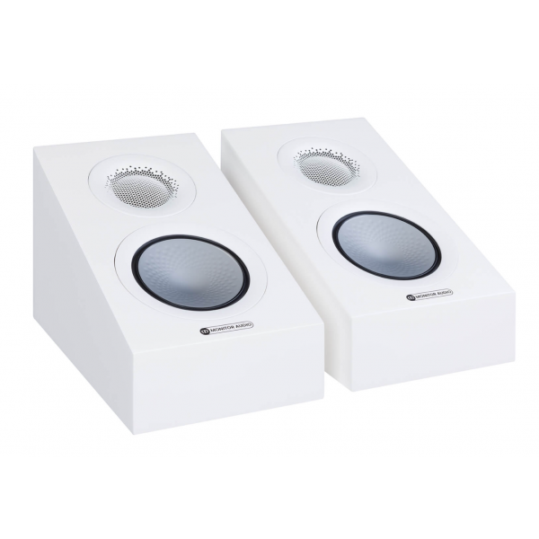 Monitor Audio Silver AMS 7G Dolby Atmos Speakers Satin White