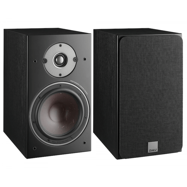 Dali Oberon 1 Speakers (Open Box, Black Ash)