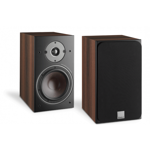 Dali Oberon 1 Bookshelf Speakers Dark Walnut