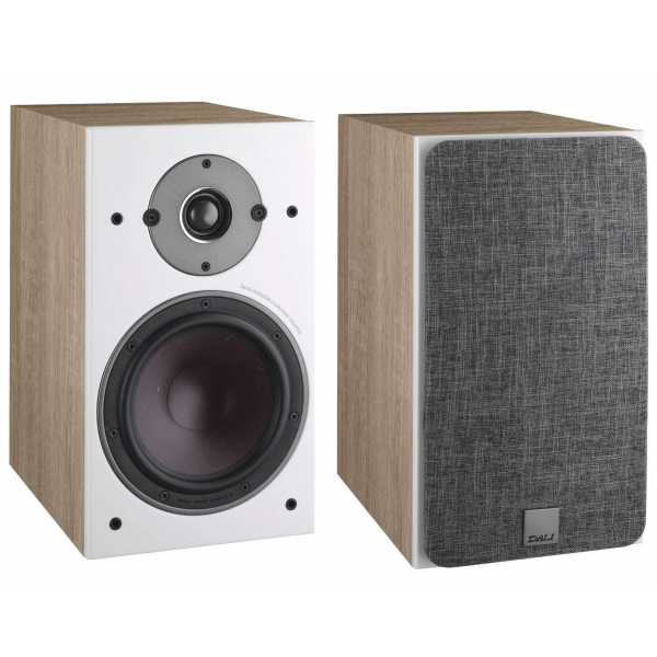 Dali Oberon 1 Bookshelf Speakers Light Oak