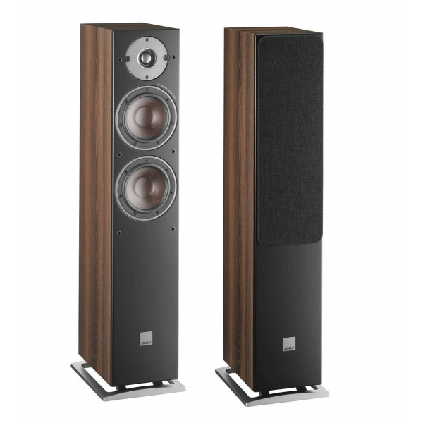 Dali Oberon 5 Floorstanding Speakers Dark Walnut