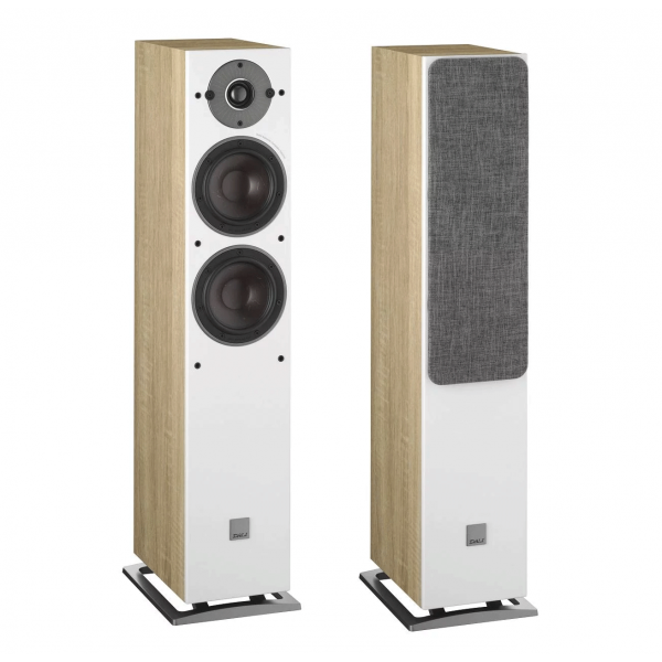 Dali Oberon 5 Floorstanding Speakers Light Oak