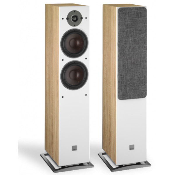 Dali Oberon 7 Floorstanding Speakers Light Oak