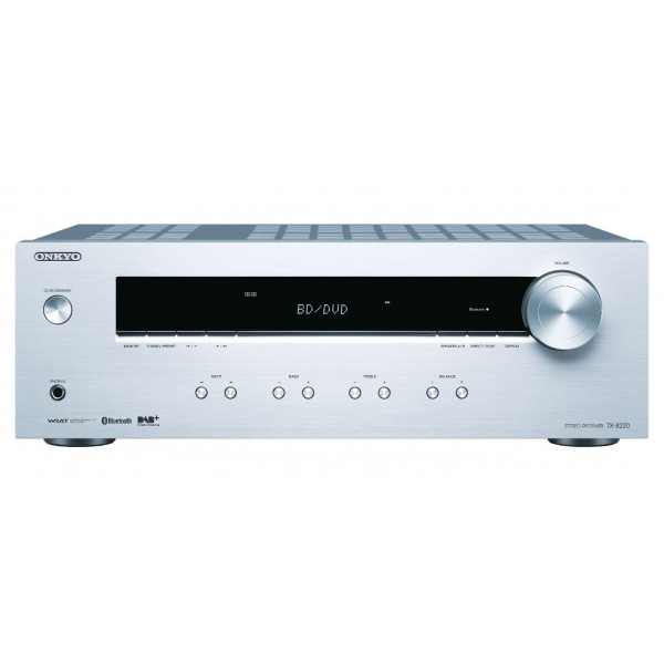 Onkyo TX-8220 Stereo Receiver Silver