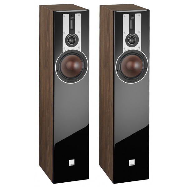 Dali Opticon 5 Floorstanding Speakers Walnut