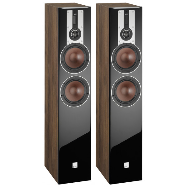 Dali Opticon 6 Floorstanding Speakers Walnut