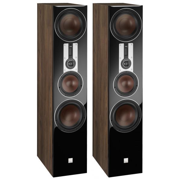 Dali Opticon 8 Floorstanding Speakers Walnut
