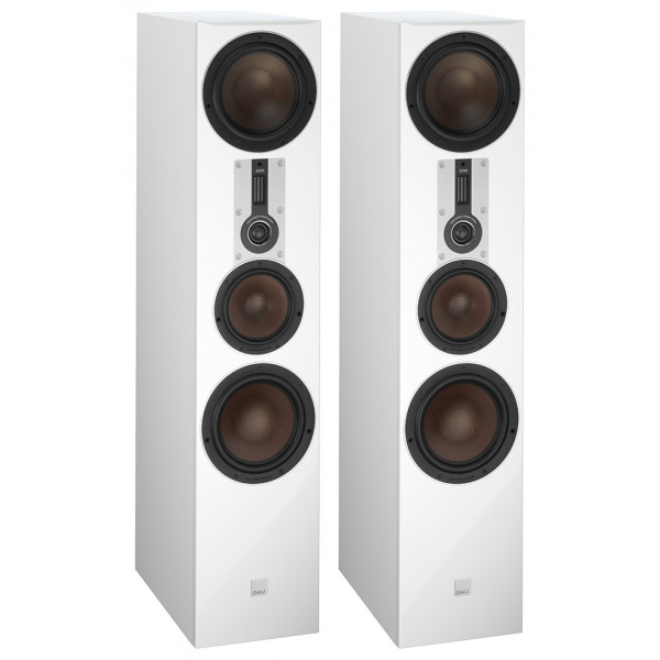 Dali Opticon 8 Floorstanding Speakers White