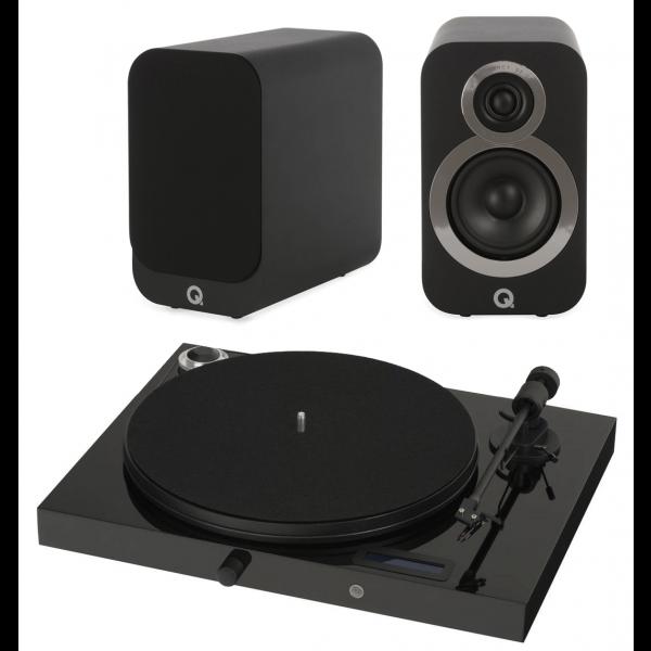 Pro-Ject Juke box E w/ Q Acoustics 3020i Speakers