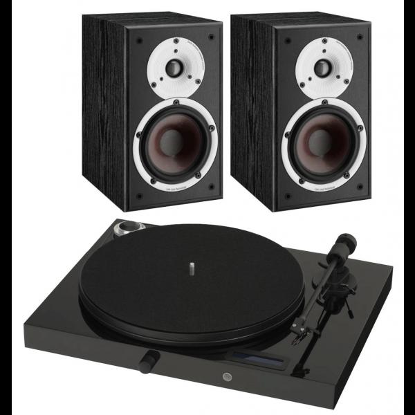 Pro-Ject Juke box E w/ Dali Spektor 2 Speakers