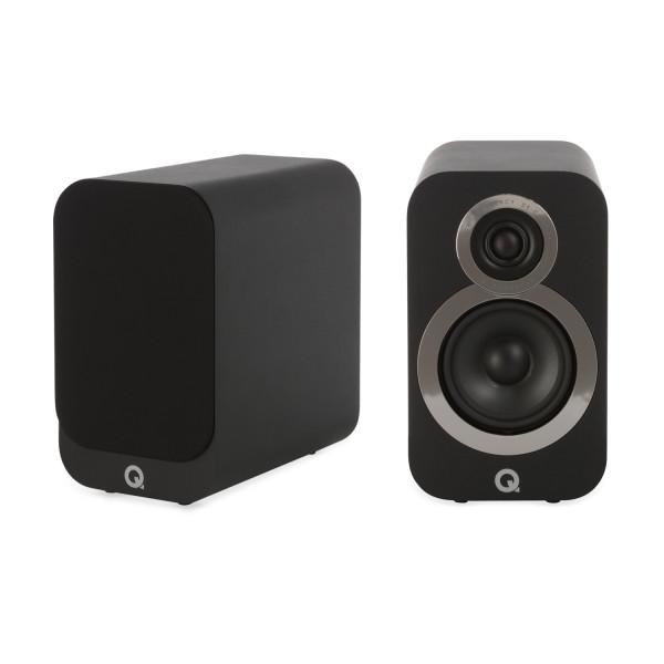 Q Acoustics 3010i Speakers (Open Box, Carbon Black)