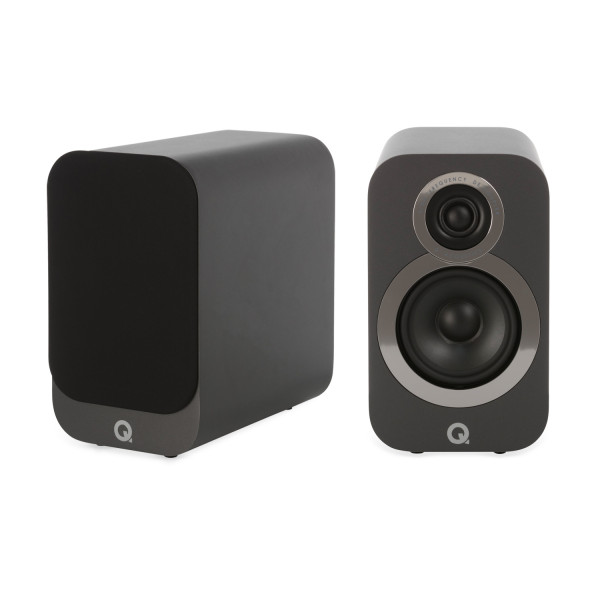 Q Acoustics 3010i Speakers Graphite Grey