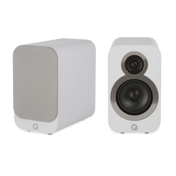 Q Acoustics 3010i Speakers (Open Box, Arctic White)