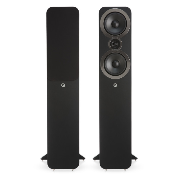 Q Acoustics 3050i Floorstanding Speakers Carbon Black