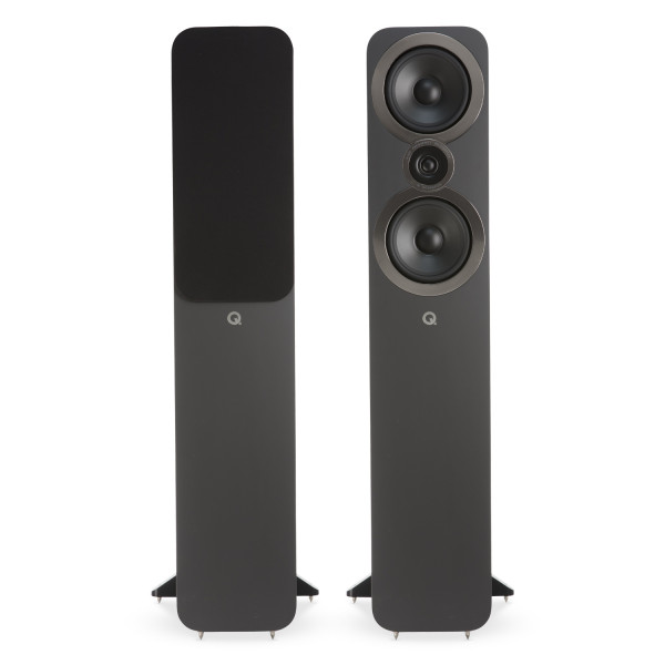 Q Acoustics 3050i Speakers (Open Box, Graphite Grey)