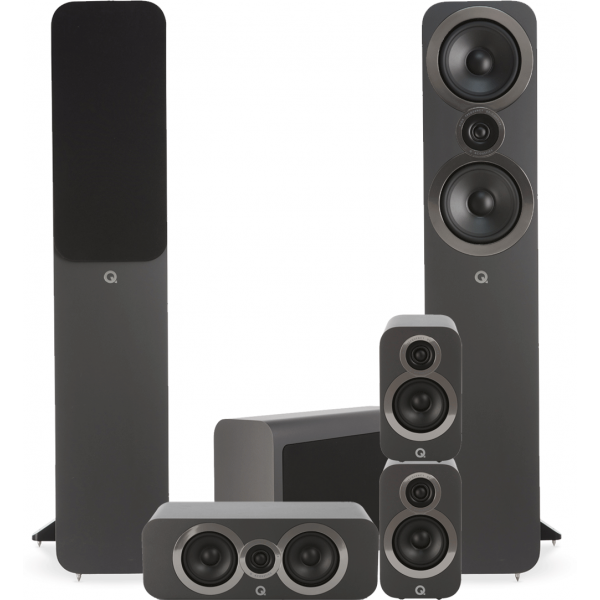 Q Acoustics 3050i 5.1 Cinema Pack Graphite Grey