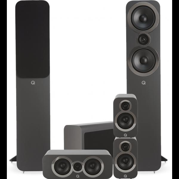 Q Acoustics 3050i 5.1 Cinema Pack Graphite Grey