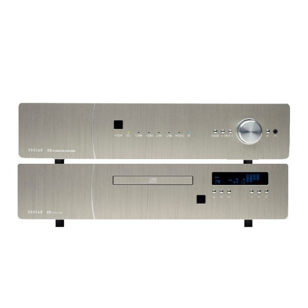 Roksan K3 Integrated Amplifier and K3 CD Player