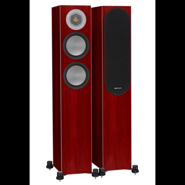 Monitor Audio Silver 200 Floorstanding Speakers Rosenut