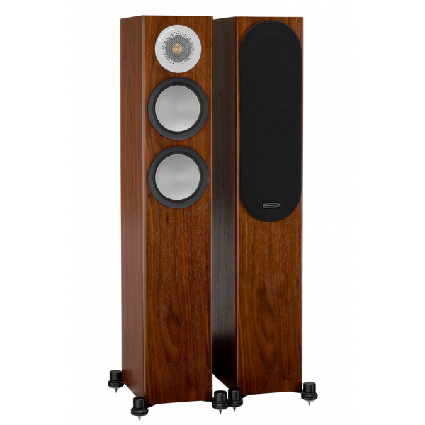 Monitor Audio Silver 200 Floorstanding Speakers Walnut