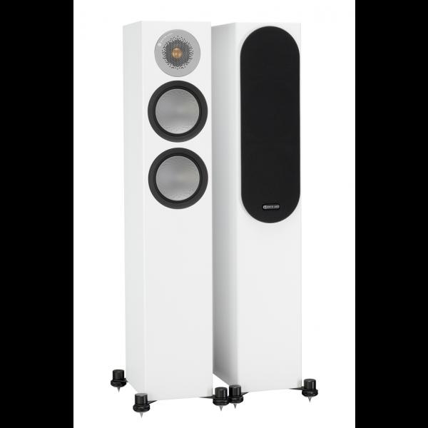 Monitor Audio Silver 200 Floorstanding Speakers Satin White