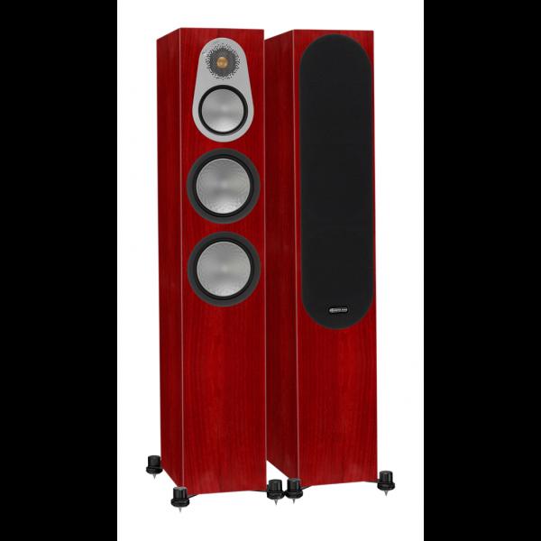 Monitor Audio Silver 300 Floorstanding Speakers Rosenut