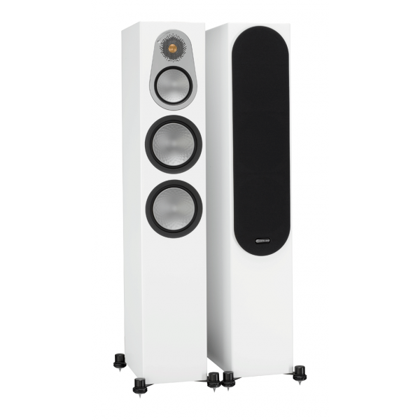 Monitor Audio Silver 300 Floorstanding Speakers Satin White