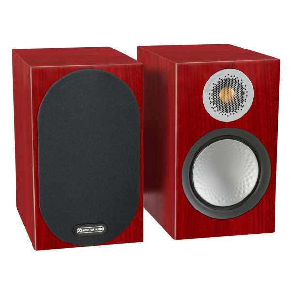 Monitor Audio Silver 100 Bookshelf Speakers Rosenut