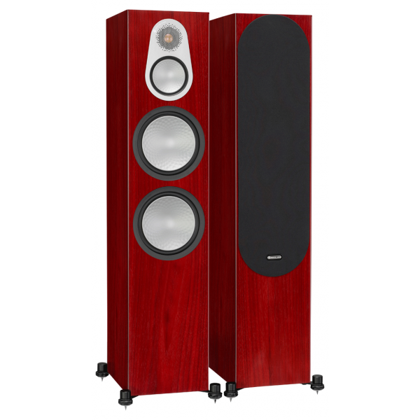 Monitor Audio Silver 500 Floorstanding Speakers Rosenut