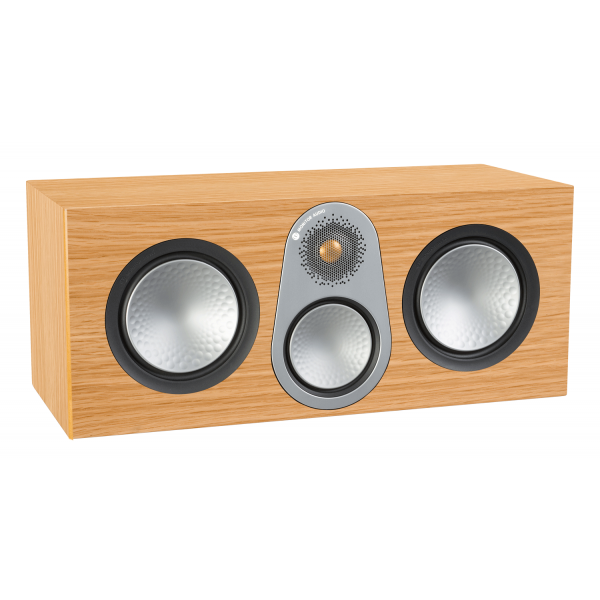 Monitor Audio Silver C350 Centre Speaker Natural Oak