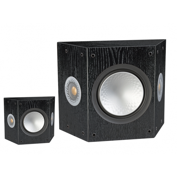 Monitor Audio Silver FX 6G Surround Speakers Black Oak Pair
