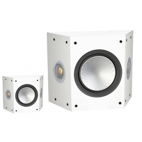 Monitor Audio Silver FX 6G Surround Speakers Satin White Pair