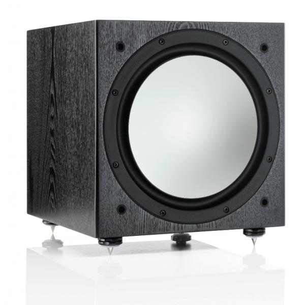 Monitor Audio Silver W12 Subwoofer Black Oak