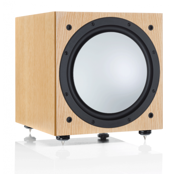 Monitor Audio Silver W12 Subwoofer Natural Oak