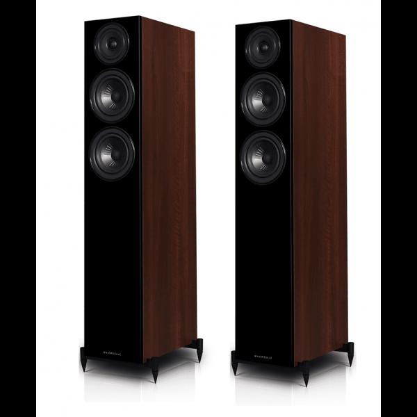 Wharfedale Diamond 12.3 Floorstanding Speakers Walnut