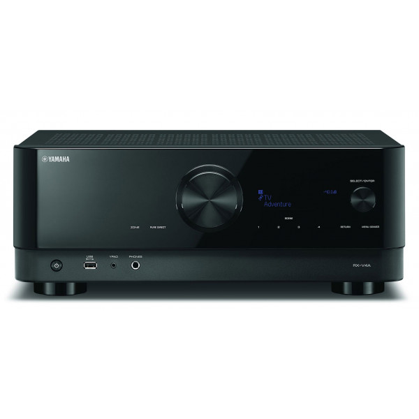 Yamaha RX-V4A AV Receiver 5.2 ch Wi-Fi Bluetooth AirPlay 2 Spotify Connect MusicCast